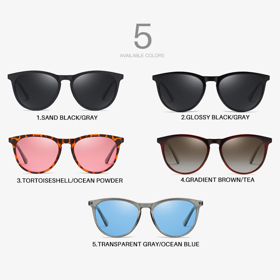AEVOGUE New Women Polarized Korean Fashion Sunglasses Men Driving Retro Outdoor Glasses Brand Design UV400 AE0816 4