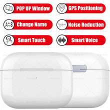 MODOSON 1:1 Bluetooth Wireless Earphone Airs Pro TWS POP UP Window Rename GPS Headphone Air Pods 3 Earbuds Smart Touch Headsets(China)