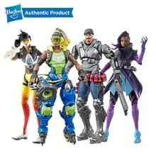 Hasbro Overwatch Ultimates Tracer Sombra Lucio Blackwatch Reyes 6 дюймов Коллекционные фигурки героев