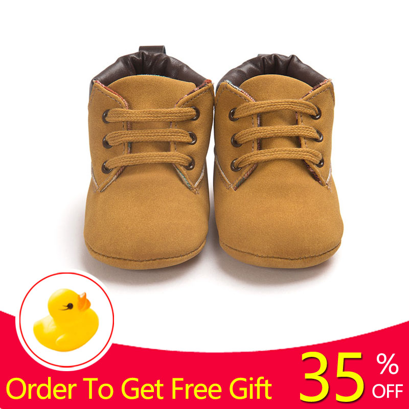 Hot Selling Heavy Winter Baby Boy Shoes Prewalker Casual Style Children Newborn Baby Toddler First Walker Keeping Warm Shoes