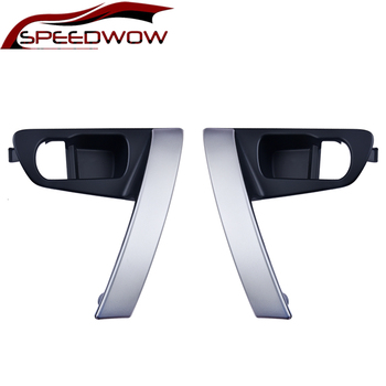 SPEEDWOW samochodu wewnętrznego drzwiowego uchwyty wewnętrzna klamka baza srebrny dla Nissan Qashqai j10 2007 2008 2009 2010 2011 2012 2013 #8211 2015 tanie i dobre opinie Car Door Handle Base 90-380g 80945-JE50A CI02042 China 80944-JE50A plastic silver black Gas Shock Strut Lift Support Car Gas Shock Hood Shock Strut Damper Lift Support