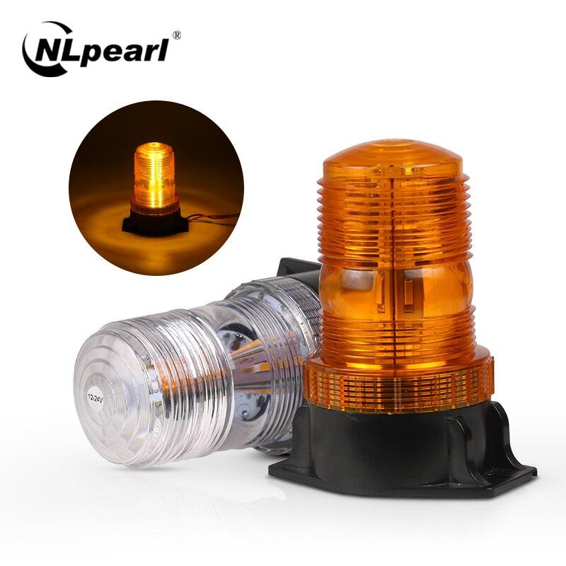 Nlpearl30 LEDs Emergency Strobe Lights Police Flashlight for Cars Truck Amber Warnning Flashing Beacons LED Signal Lamp 12V 24V
