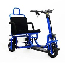 Electric Seat Foldable 3-Wheel 350W 48V with for Disabled/elderly