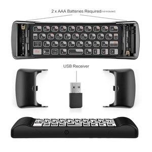 Image 5 - MINIX NEO A3 arkadan aydınlatmalı sürüm kablosuz hava fare ses girişi ile QWERTY klavye altı eksenli jiroskop uzaktan MINIX akıllı tv kutusu