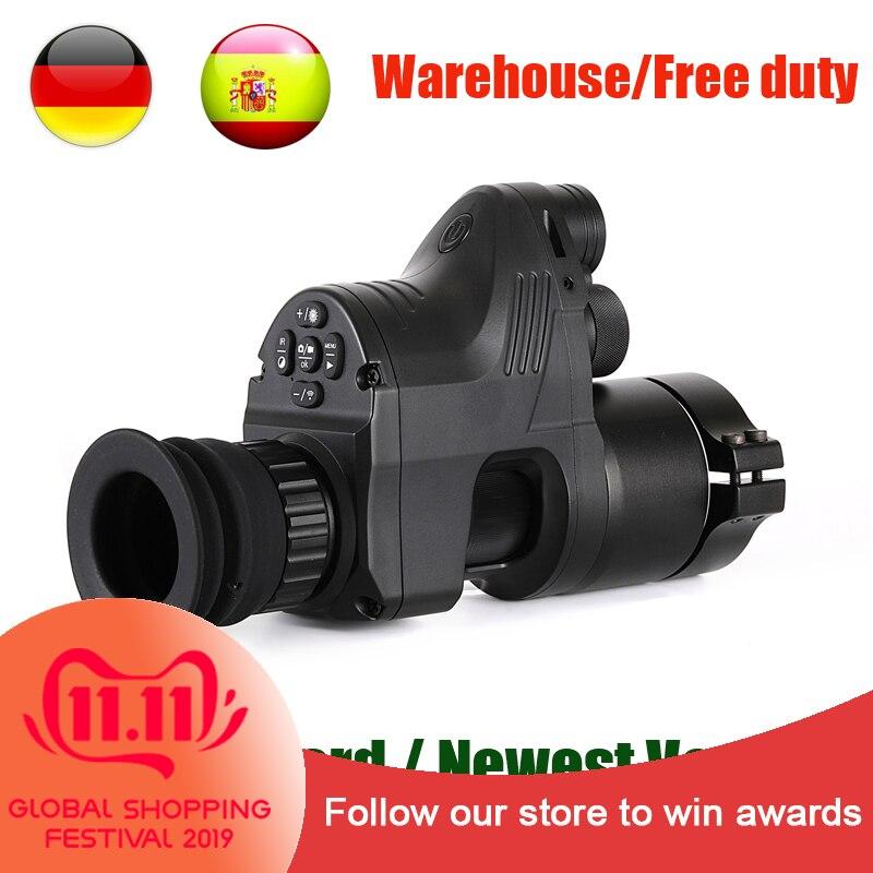PARD NV007 Digitale di Caccia Portata di Visione Notturna Telecamere 5w FAI DA TE/IR/Infrarossi Visione notturna Cannocchiale 200M gamma di Visione Rifle Ottica