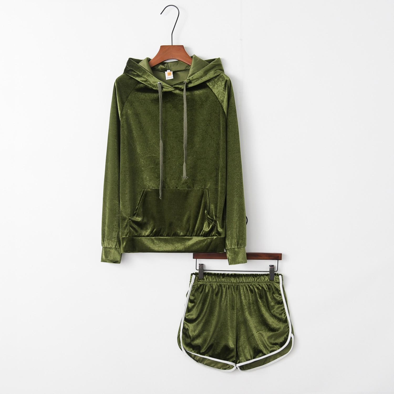 Sex Warm 2020 New Design Fashion Hot Sale Suit Set Women Tracksuit Two-piece Style Outfit Sweatshirt Sport Wear