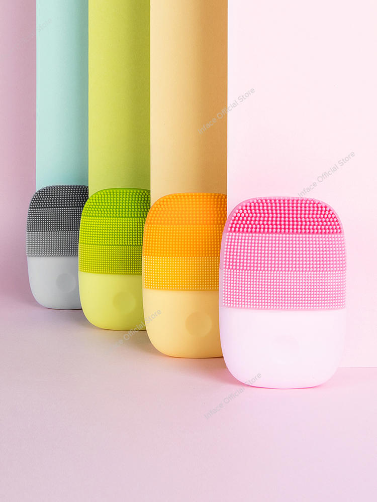 Face-Skin-Care-Tools Cleansing-Brush Electric-Sonic-Cleanser Facial-Beauty-Massager Inface