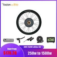 Pasion eBIKE Conversion Kit 26 in Elektrische Fahrrad Conversion Kit 48V 1000W 1500W Hinten Hub Motor Rad-in Conversion Kit aus Sport und Unterhaltung bei