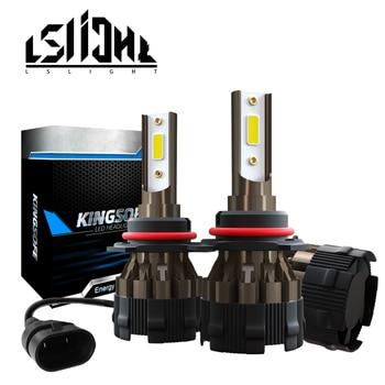 LSlight linterna del coche de H4 LED H11 H9 H8 H1 H7 9005 LED 9006 HB3 HB4 12V 24V 6000 lámparas de coche K 8000LM bombilla de luz alta baja