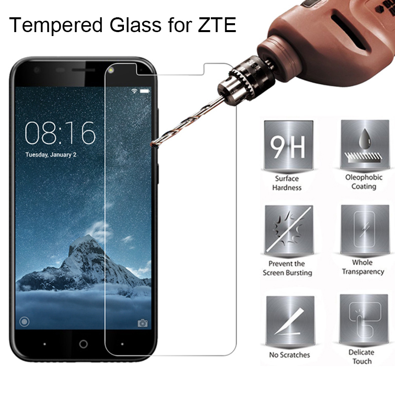 Toughed Screen Glass For ZTE Blade A2 Plus A3 A6 Tempered Glass For ZTE Blade L3 Plus L2 9H HD Hard Glass On ZTE Blade L5 Plus