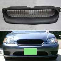 Body kit front bumper cover Refitting grill Accessories carbon fibre Racing Grills use for subaru Legacy 2005 2007