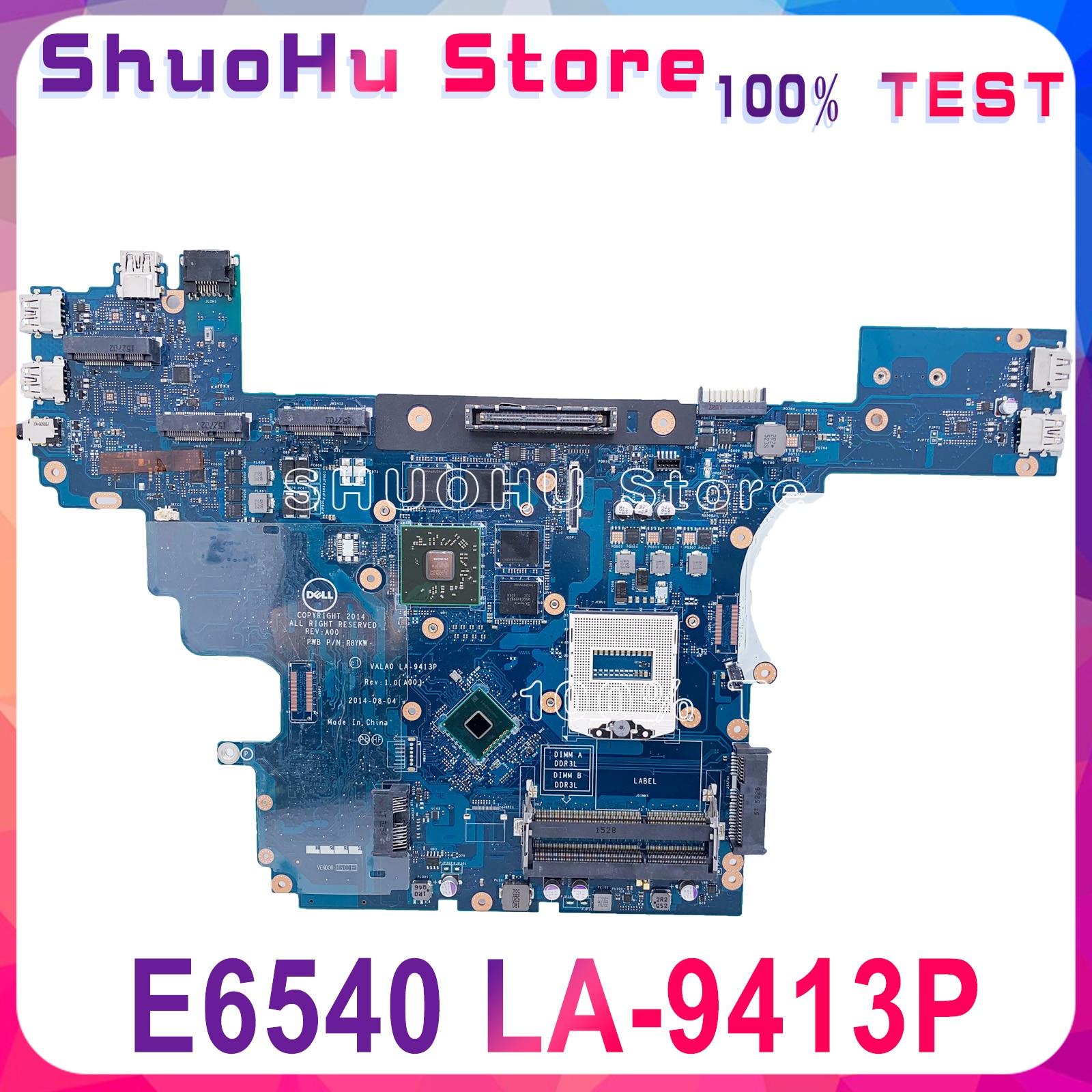VALA0 LA-9413P для Dell Latitude E6540 Материнская плата ноутбука HM87 PGA947 DDR3L HD 8790 м 2 Гб