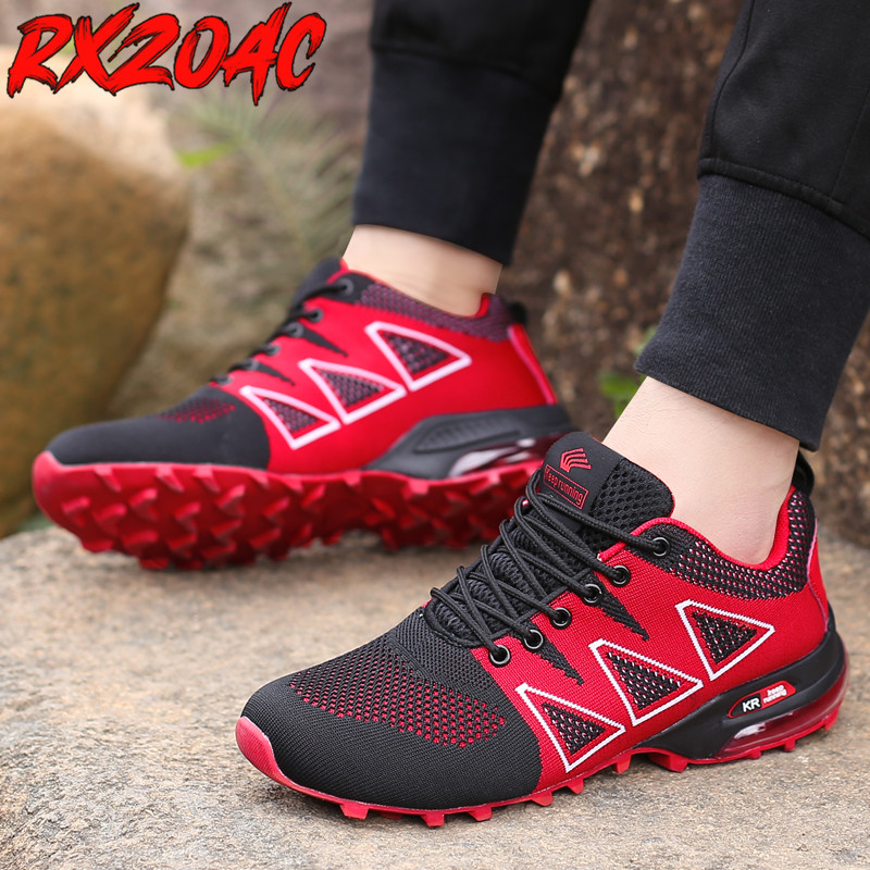 Outdoor Hiking Shoes Camping Trail Men's Trekking Shoes Soft Breathable Sneakers Air Cushion Trekking Summer Sneakers for Men K6
