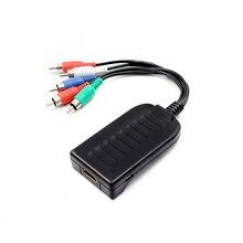 HDMI إلى قشارة RGB مكون (YPbPr) فيديو R/L محول الصوت لتحويل HD TV PS3
