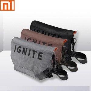 Image 1 - Original xiaomi mijia bag pocket bag shoulder bag backpack waterproof pockets digital game storage bag outdoor sports backpack