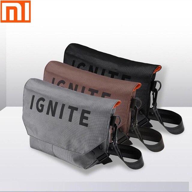 Original xiaomi mijia bag pocket bag shoulder bag backpack waterproof pockets digital game storage bag outdoor sports backpack