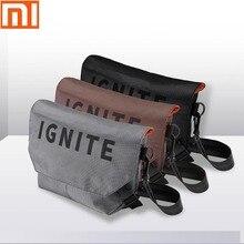 الأصلي شاومي mijia حقيبة جيب حقيبة الكتف حقيبة الظهر جيوب مقاومة للماء الرقمية لعبة تخزين حقيبة الرياضة في الهواء الطلق على ظهره