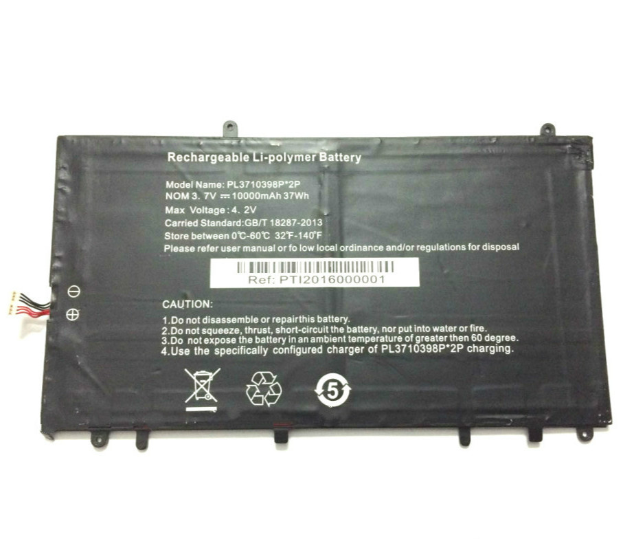 Stonering 10000mah Battery NV-3710398-2P For Irbis NB47 NB44 NB41 3.7V  Laptop