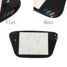 Vidro material protetor lente da tela, 5 peças, substituição para sega jogo gear gg protetor de lente