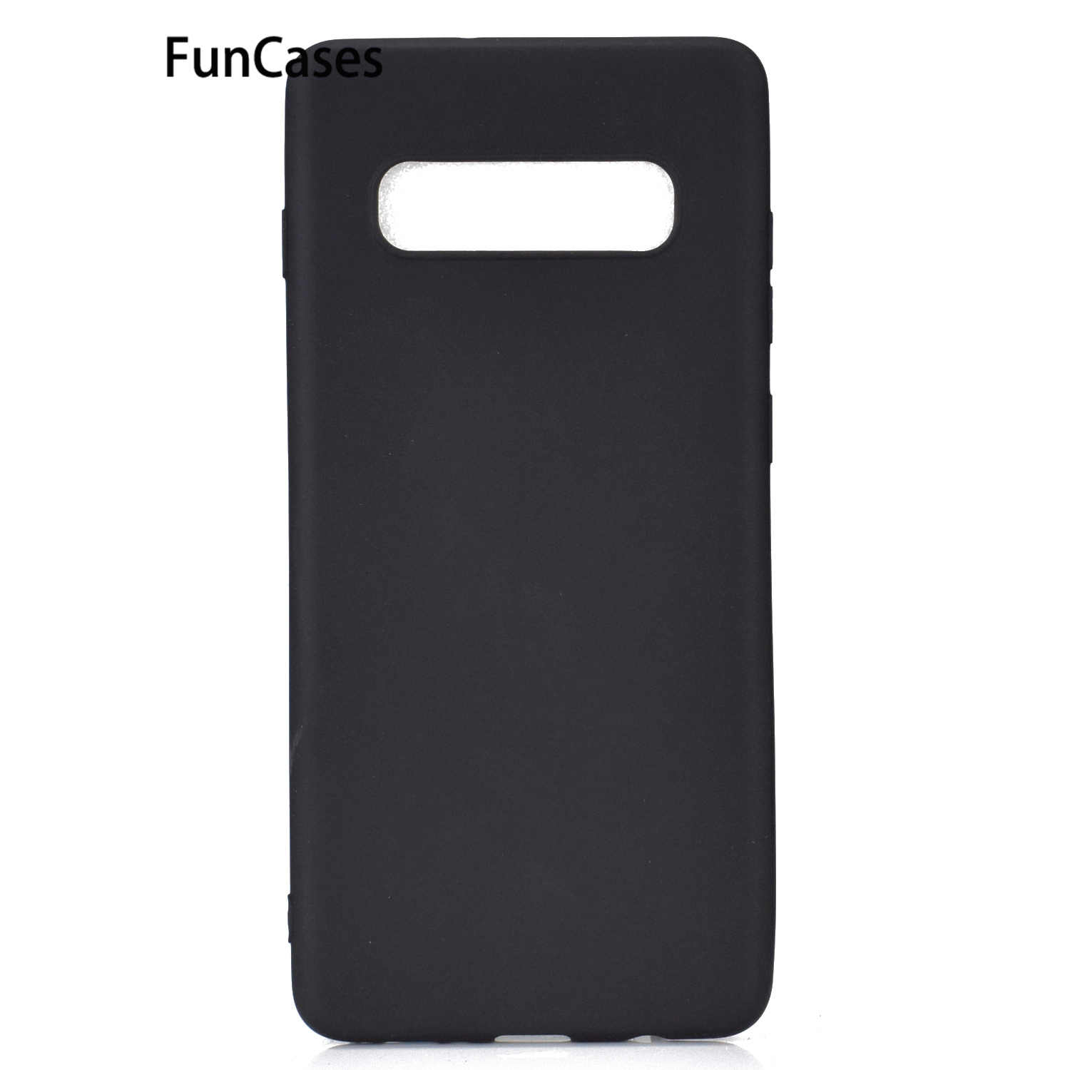 Black Cases For Samsung J4 Plus Soft Silicone Cases Capa Samsung Galaxy J4+ J2 Pro 2018 J3 2017 J4 J5 J510 J6 J7 J710 J8 S10 5G