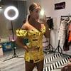 EvaQueen Letter Print Sexy Dress Women Tie Bow Slash Neck Backless Zipper Bodycon Dresses Summer Skinny Nightclub Party Vestidos 2
