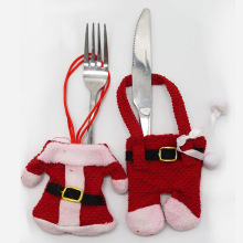 Yooap 2pcs Christmas restaurant decoration cutlery set desktop holiday atmosphere dress up products