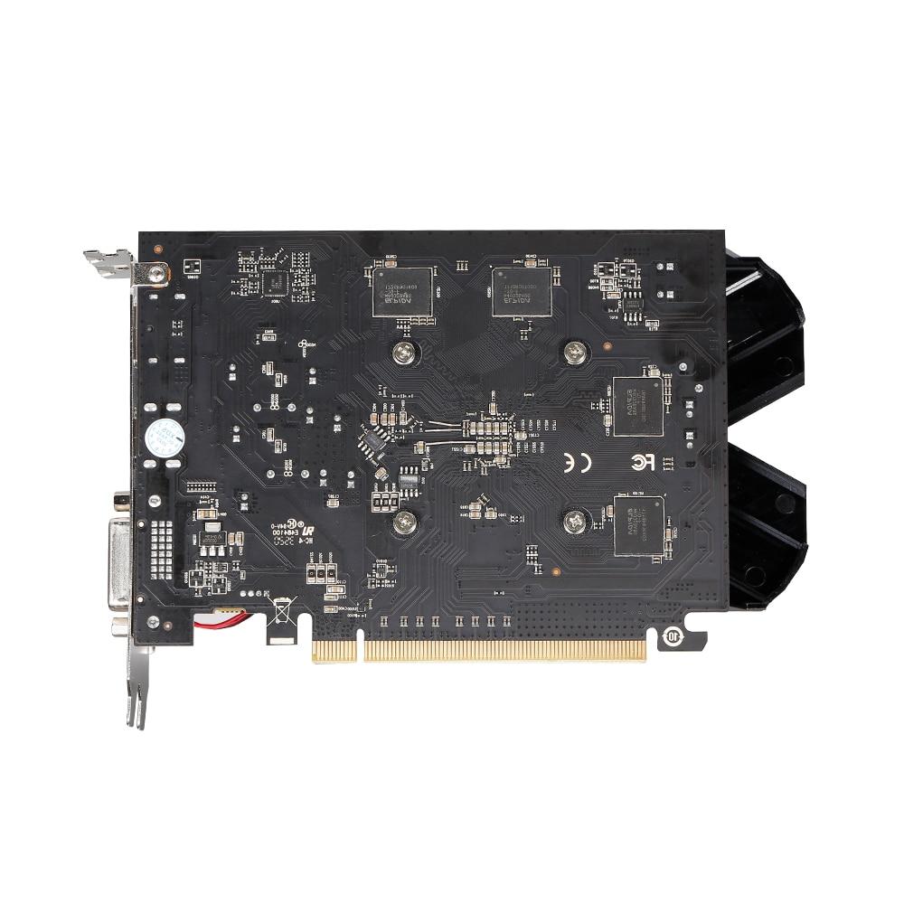 Видеокарта VEINEDA Radeon RX 550 4 ГБ GDDR5 128 бит для игрового настольного компьютера, видеокарты PCI Express3.0 для карты Amd-1