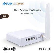 Módulo interno de wifi 8 canais sx1301 mini pcie openwrt com antena de lora q096 micro gateway wisdevice rak7258