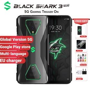 Глобальная версия Xiaomi Black Shark 3 Pro 5G игровой смартфон 256 ГБ 12 Гб Snapdragon 865 5000 мАч 7,1