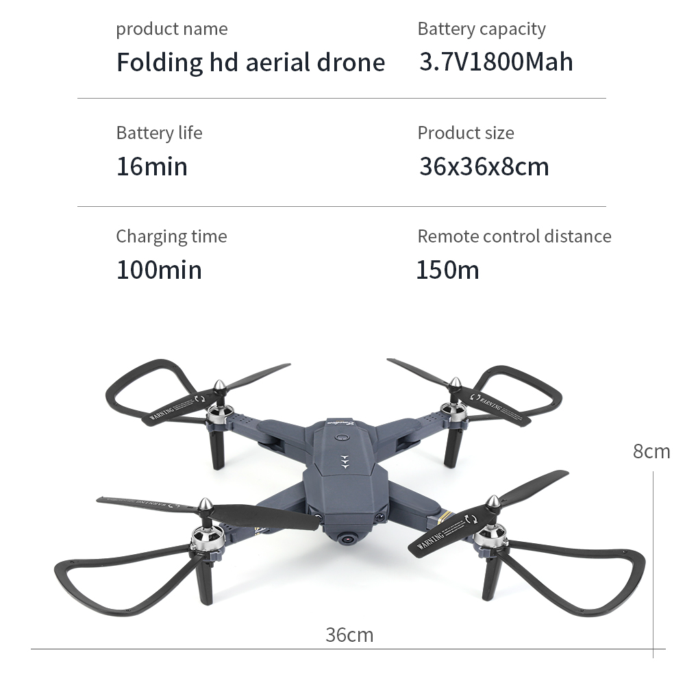 lowest price Professional GPS With 4K Wide Angle Drone Camera  Follow me WIFI FPV Quadcopter Foldable Altitude Hold Durable RC Drone