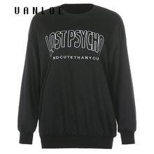 Женская уличная одежда Черный свитшот вязаный пуловер женские