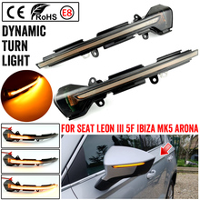 2X For SEAT Ateca Cupra Ateca Tarraco Xcellence 2016 2019 Car Dynamic Blinker Indicator sequential Turn Signal Light