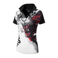 jeansian Womens Casual Designer Short Sleeve T-Shirt Tee Shirts Tshirt Golf Tennis Badminton SWT259 Black2