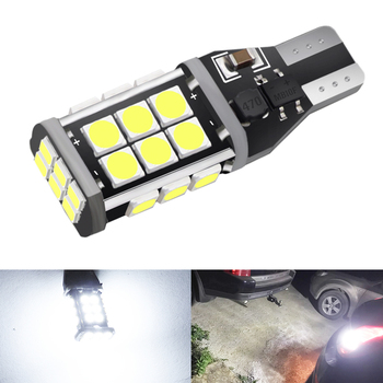 1Pcs Canbus 921 T15 W16W LED Bulbs Car Backup Reverse Light for BMW E60 E90 E91 Ford Fiesta Fusion Focus Mazda 3 5 6 CX-5 image