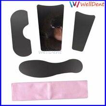 4 шт/1 упаковка Ортодонтические зеркала из нержавеющей стали