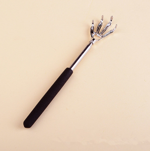 Image 2 - New Convenient Claw Telescopic Ultimate Stainless Steel Massager Back Scratcher Extendible From 22 to 59cm Health Care Tools