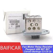 Baificar – résistance de relais de ventilateur de ventilateur pour Peugeot 0.54 406 607 807, d'origine, Ohm, Berlingo C3 C5 C8
