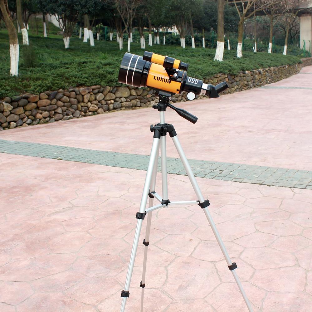 LUXUN HD professionnel télescope astronomique vision nocturne télescope monoculaire + trépied portée pour montre voyage lune télescopio celu