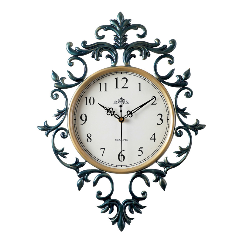 Vintage Wall Clock Large Retro Decor Wall Clocks American Style Silent Clock On The Wall For Living Rooms Classical Wall Watches