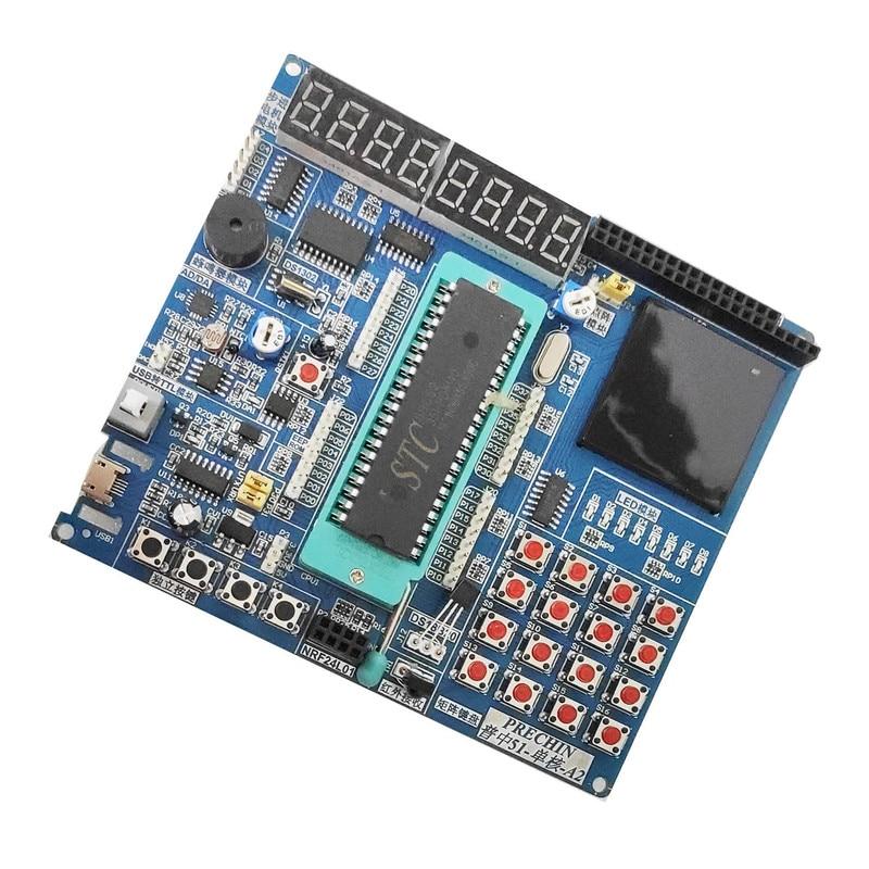 51 SCM Development Board  Learning Board Experiment Board Stc89c52 Kit 8051 SCM 9051  With Electronic File
