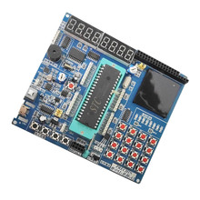 51 SCM development board  learning board experiment board stc89c52 kit 8051 SCM 9051  with electronic file