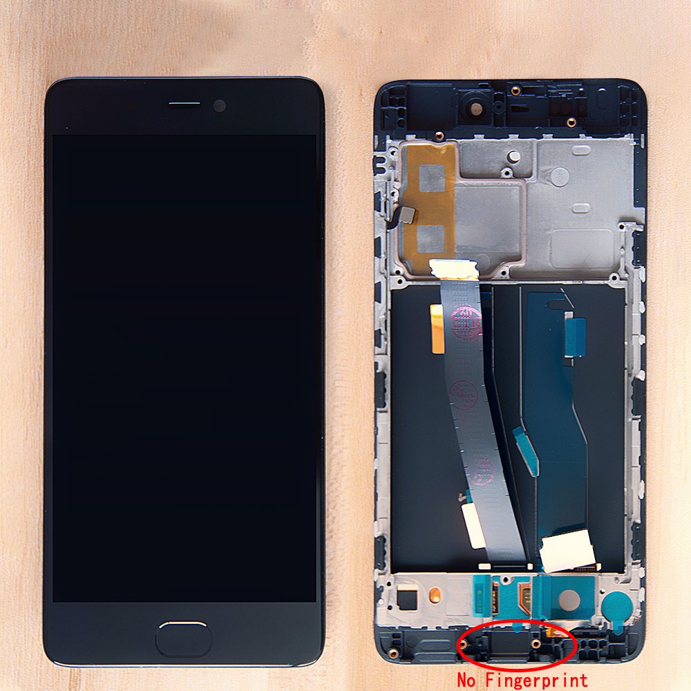 Sinbeda Original 5.15'' For Xiaomi 5s Mi 5s Mi5s LCD Display Touch Screen Digitizer Frame Assembly No Fingerprint Replacement