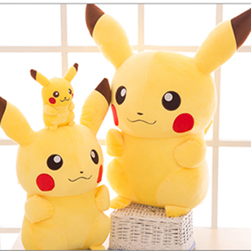 2020 TAKARA TOMY Pokemon Pikachu Plush Toys Stuffed Toys Japan Movie Pikachu Anime Dolls Christmas Birthday Gifts for Kids 5