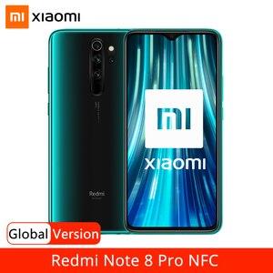 "Image 1 - Wersja globalna Xiaomi Redmi Note 8 Pro 6GB 64GB Smartphone 64MP Quad Camera Helio G90T 4500mAh NFC telefon komórkowy 6.53 ""DotDisplay"