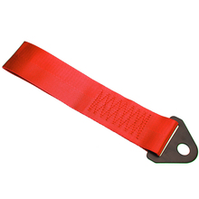 1pcs Red Racing Towing Rope High Strength Bumper Trailer Vehicle Auto Recovery Hook Tow Strap