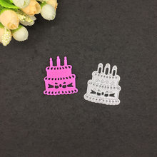 Шаблон для вырезания металлический торт Скрапбукинг карточка
