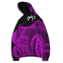 Personalized Creative Car Pattern 3D Printed Hoodie 2021 Autumn Winter New Men's Clothing Casual Pullover Hip-hop Streetwear