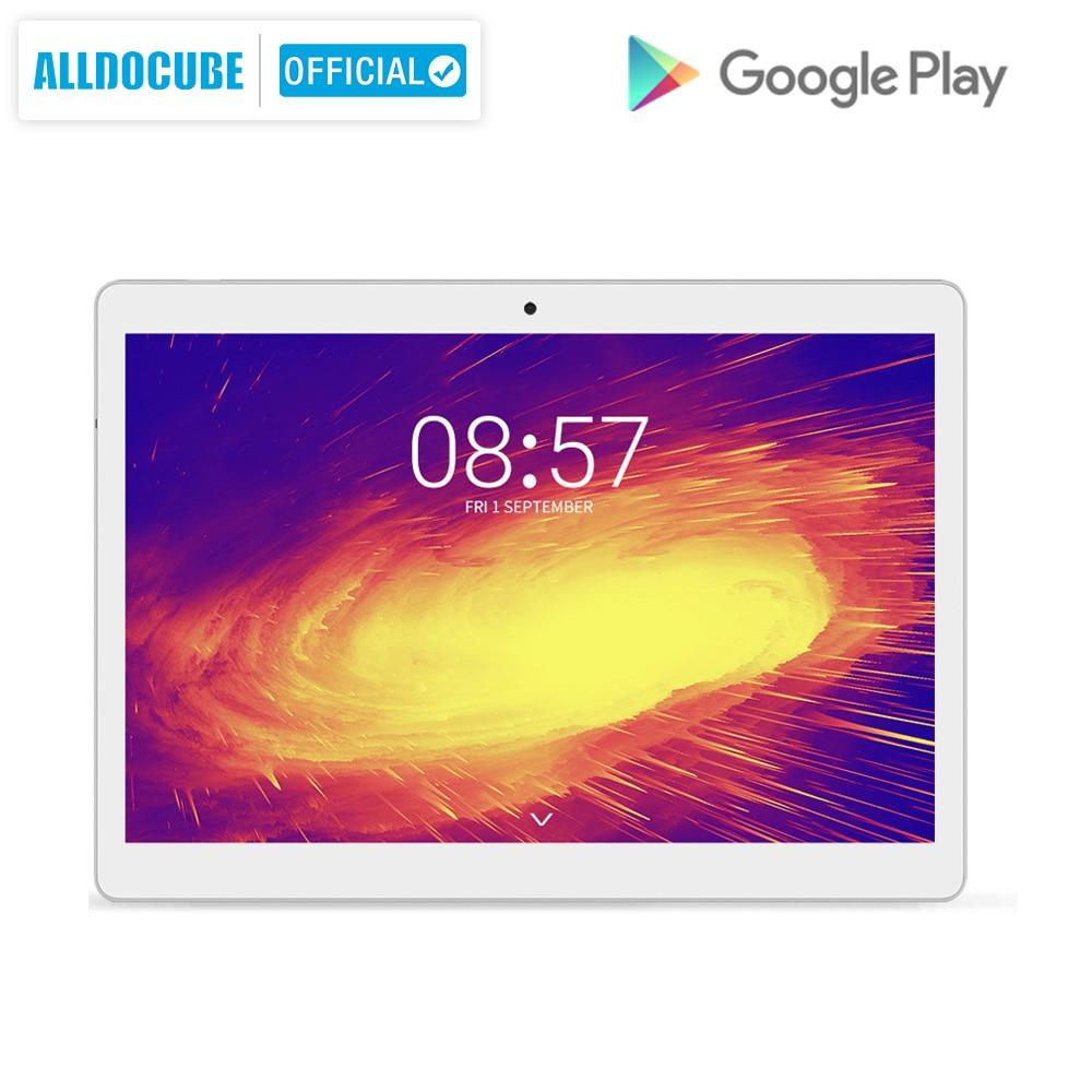Alldocube m5x 10.1 polegada tablet android 8.0 4 gb ram 64 gb rom mtk x27 4g lte 10 core chamada de telefone comprimidos pc 2560*1600 ips presente do miúdoTablets   -