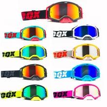 IOQX Outdoor Motorcycle Goggles Cycling MX Off-Road Ski Sport ATV Dirt Bike Racing Glasses Motocross Goggles Bike Google