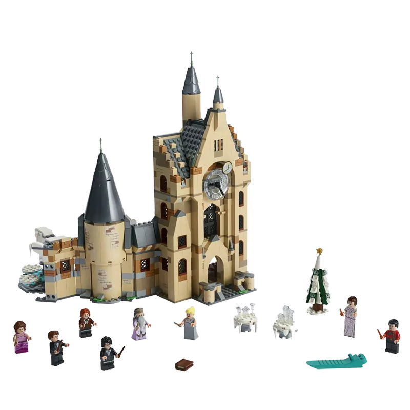New Harry Set Magic Toys Hogwartsing Clock Tower Compatible Legoingly Harry 75948 Building Blocks For Children Christmas Gifts